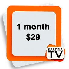 Kartina TV 1 month subscription