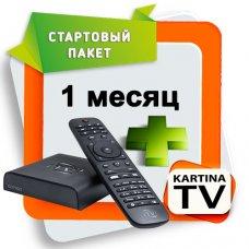 Стартовый комплект Kartina TV + Comigo Quattro HD