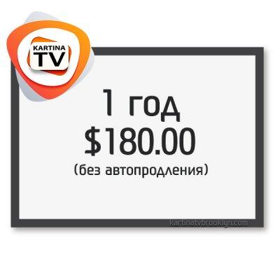 Годовой абонемент Kartina TV