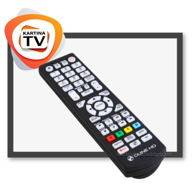 Kartina TV Remote Control for Dune (all models)