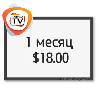Месячный абонемент Kartina TV