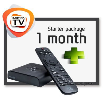 [Bestseller] Starter Package + Comigo Quattro HD