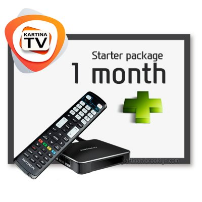 [Bestseller] Starter Package Kartina TV + Kartina X