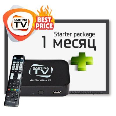 Стартовый комплект Kartina TV + Dune Micro HD