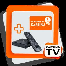 """Kartina TV Comigo Quattro HD + годовой """"Премиум"""" пакет"""