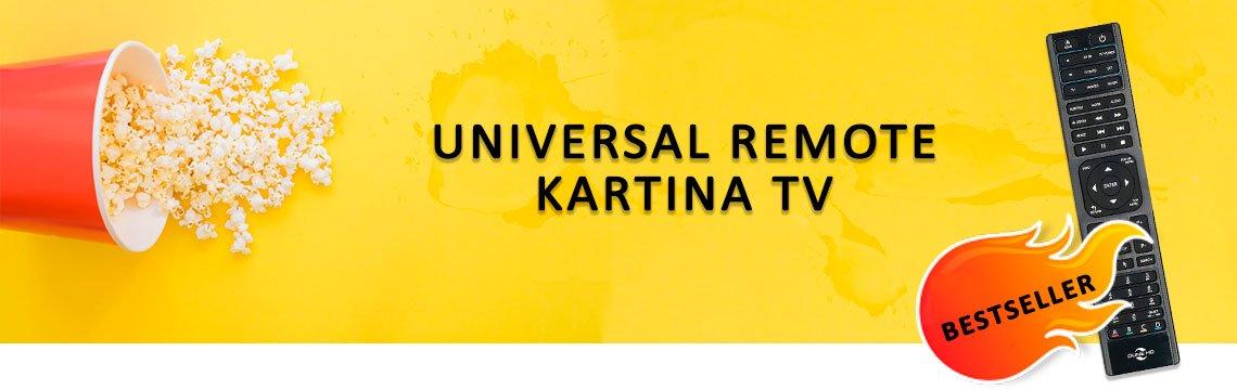 Универсальный пульт Kartina TV