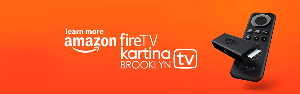 Kartina TV on Amazon Fire TV