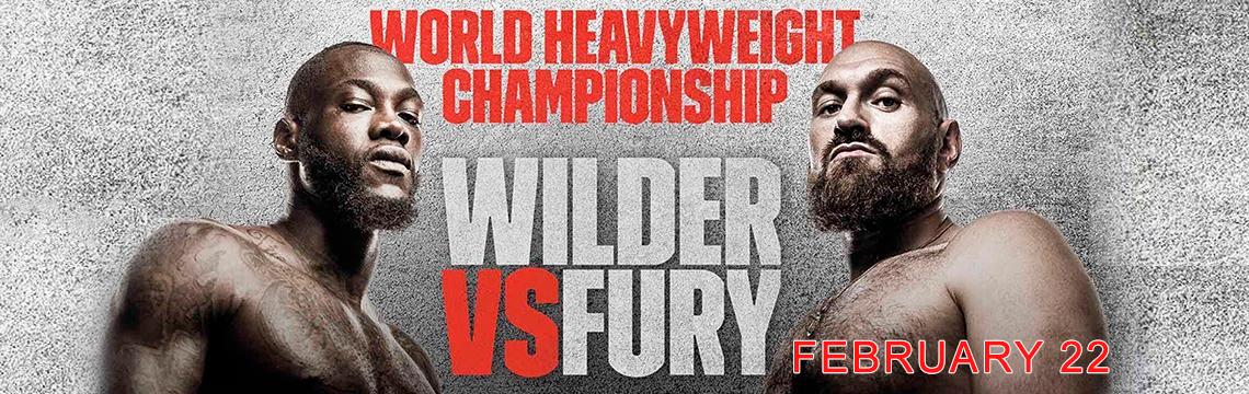 Смотрите Уайлдер – Фьюри бой реванш онлайн трансляция на Kartina