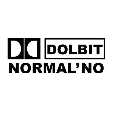 """Креативная наклейка на автомобиль """"dolbit normalno"""""""