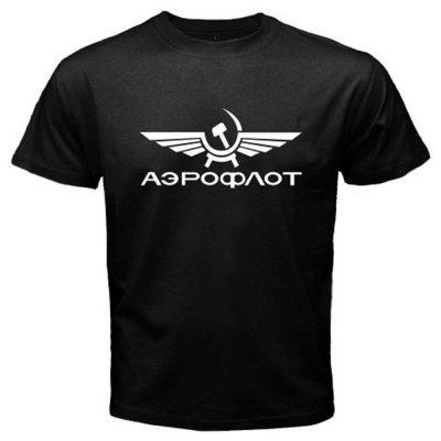 Мужская футболка «Аэрофлот»
